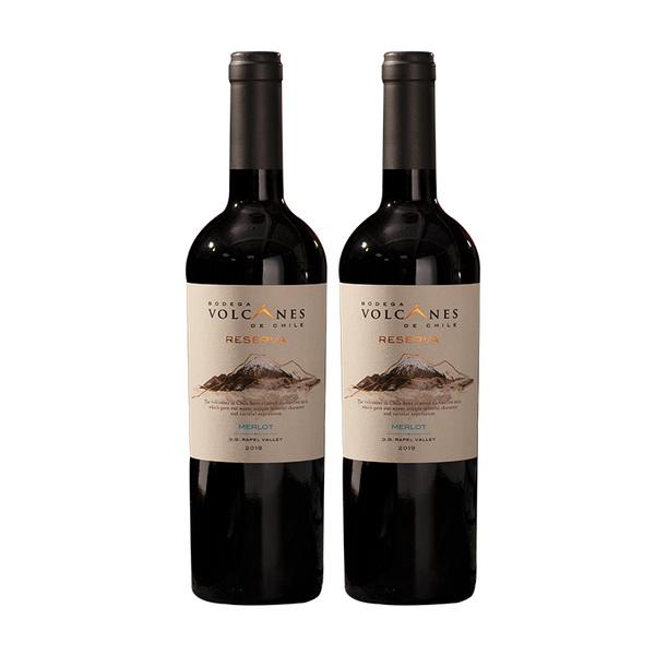 智利 火山系列顶峰珍藏梅洛干红葡萄酒