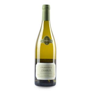 【请拍【双支】规格,参与买一送一】彼乐夏布利 法国勃艮第霞多丽干白葡萄酒 750ml