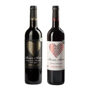 纯爱干红葡萄酒*1+炽爱干红葡萄酒*1