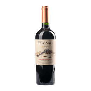 智利 火山系列特科托尼亚赤霞珠干红葡萄酒750ml