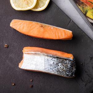 挪威冷冻三文鱼250g