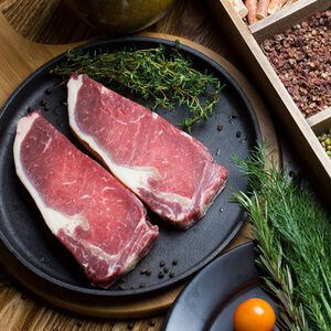 【2件立减60】阿根廷进口西冷牛排 1kg*2