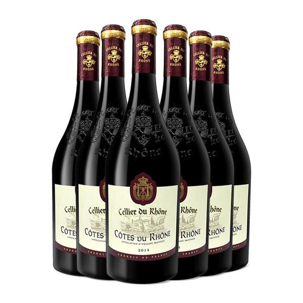 罗纳酒窖 法国干红葡萄酒 750ml