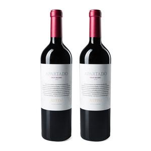露蒂尼甄选 阿根廷马尔贝克 干红葡萄酒双支