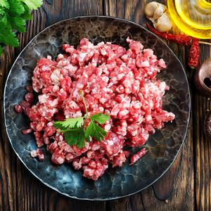 (华南仓)阿根廷进口 精切牛肉馅 1kg装