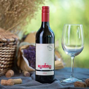 马丁小车 澳大利亚 设拉子半甜红葡萄酒 750ml