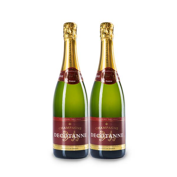 法国 德克丹娜半干型香槟(起泡葡萄酒)750ml