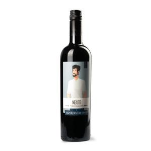智利灵魂系列    暖男美乐红葡萄酒 750ml
