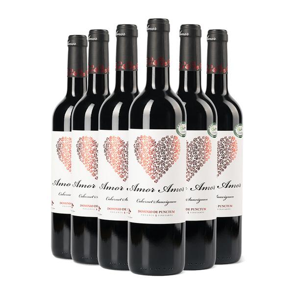 西班牙 纯爱赤霞珠干红葡萄酒 750ml