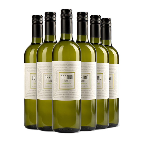 露蒂尼 阿根廷天意系列特浓情干白葡萄酒750ml